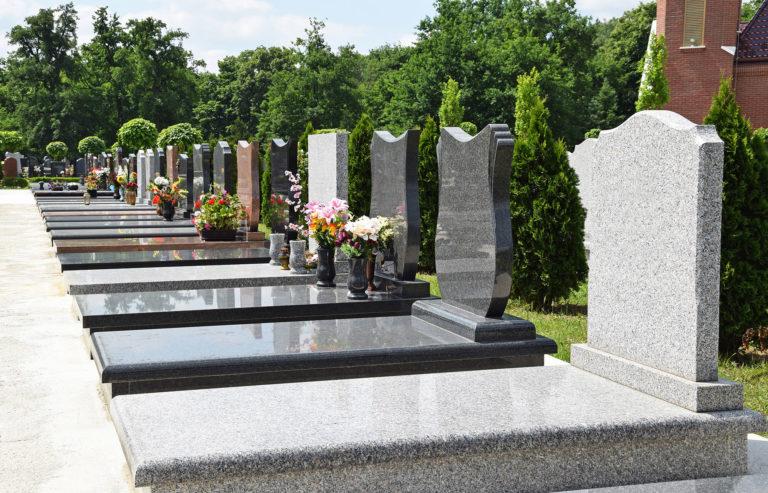 choix de pierres tombales