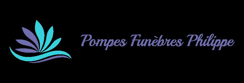 logo pompes funebres philippe vittel